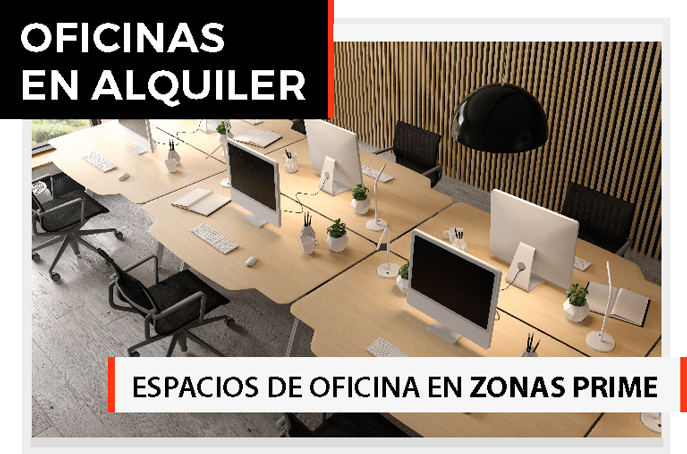 Oficinas en alquiler en Barcelona